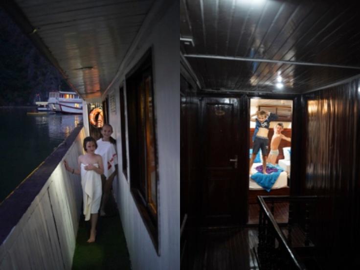 20 Halong Bay 23Vie sur bateau