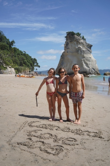 58 - NZ Haei Beach & Cathedral Cove