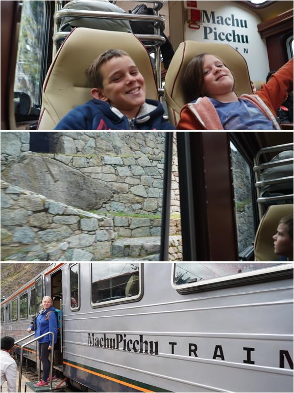 Machu - train retour